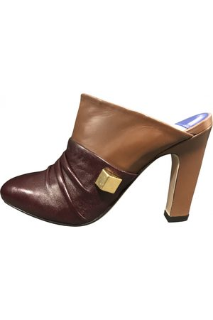 Stuart Weitzman Leather Mules & Clogs
