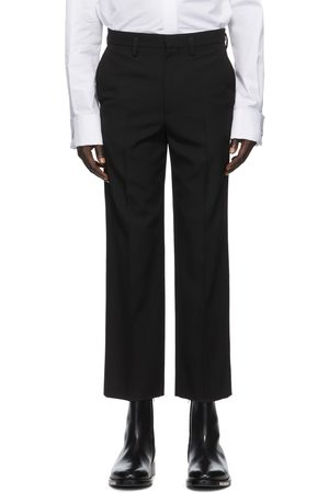 Balenciaga Black Wool Trousers