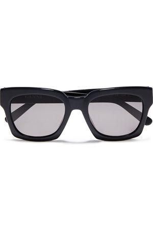 Ganni Women Sunglasses - Woman D-frame Acetate Sunglasses Size