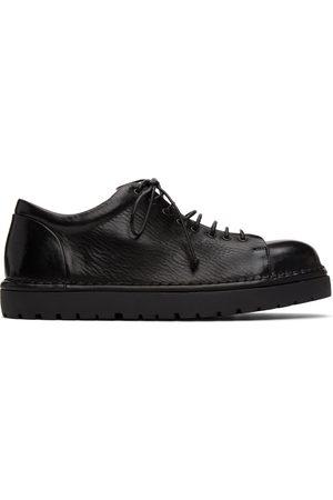 MARSÈLL Men Formal Shoes - Black Pallottola Derbys