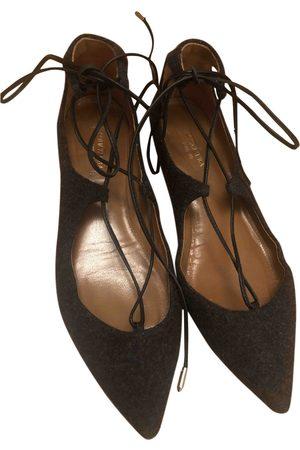 Aquazzura Tweed Ballet Flats