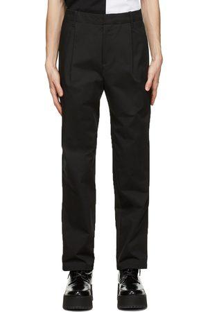 Neil Barrett Black One-Pleat Trousers
