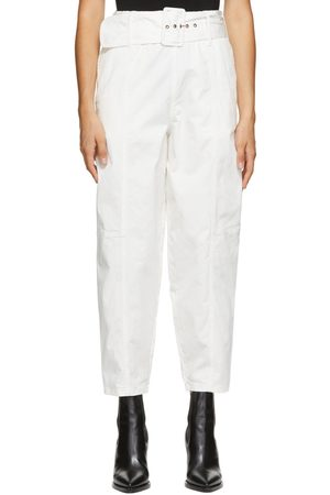 See by Chloé White Cocoon Trousers