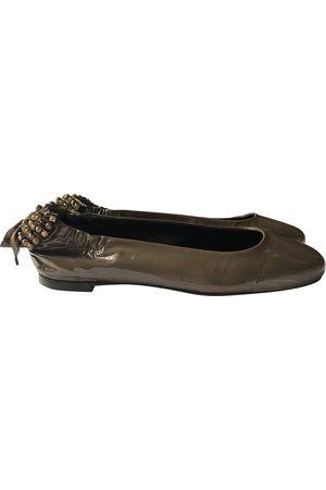 AGL ATTILIO GIUSTI LEOMBRUNI Patent leather Ballet Flats