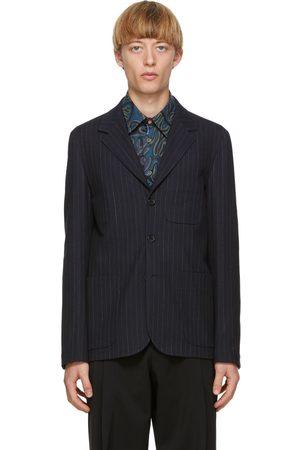 Paul Smith Navy Pinstripe Blazer