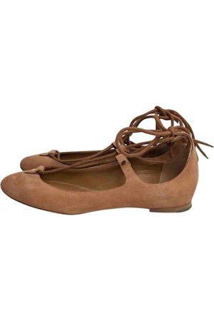 Chloé Suede Ballet Flats