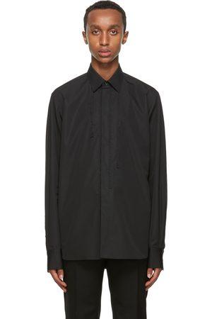 Rochas Black Rebecca Braided Shirt