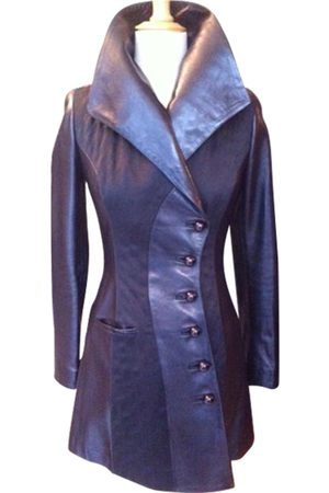 JEAN CLAUDE JITROIS Leather Trench Coats