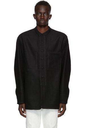 LEMAIRE Men Jackets - Black Felted Jacket