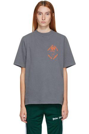 Palm Angels Grey Small Exotic Club T-Shirt