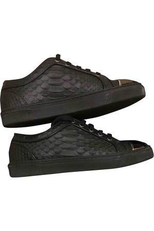 LOUIS LEEMAN Leather Trainers
