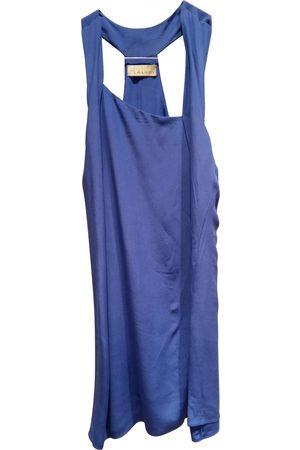 ALYSI Silk mini dress