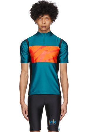MARTINE ROSE SSENSE Exclusive Green Cycling T-Shirt