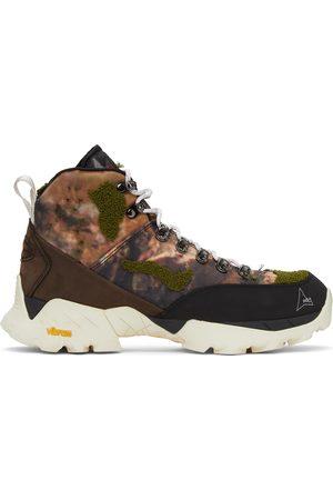 ROA Green & Brown Camo Andreas Boots