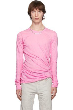 Rick Owens Pink Basic Long Sleeve T-Shirt