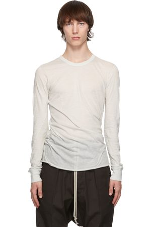 Rick Owens Off-White Basic Long Sleeve T-Shirt