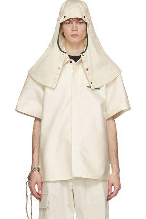 Jil Sander Off-White Gabardine Hat