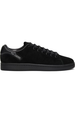 RAF SIMONS Black Suede Orion Sneakers