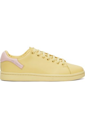 RAF SIMONS Yellow & Pink Orion Sneakers