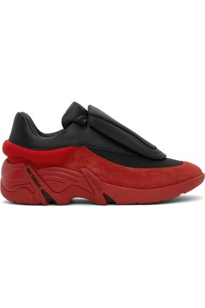 RAF SIMONS Black & Red Antei Sneakers