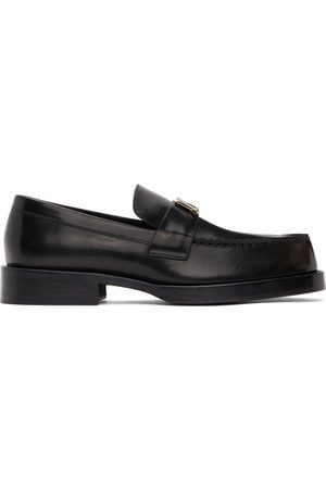 We11 Done Metal Logo Loafers