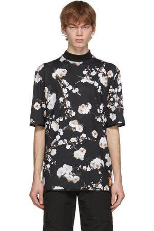Boramy Viguier Black Flower Printed T-Shirt