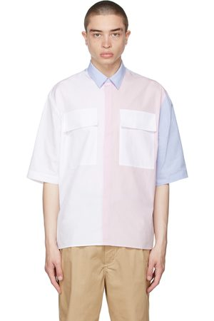 Maison Kitsuné Large Pockets Short Sleeve Shirt