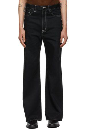 Sasquatchfabrix. Contrast Five-Pocket Jeans