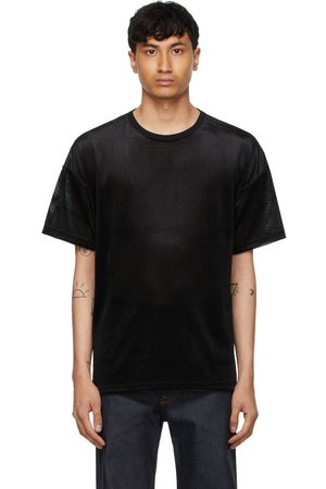 Sasquatchfabrix. Velour Mesh Big T-Shirt