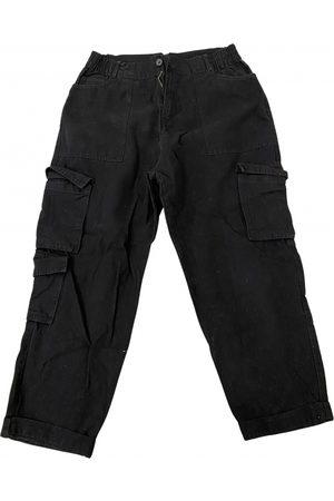 Bershka Cotton Trousers