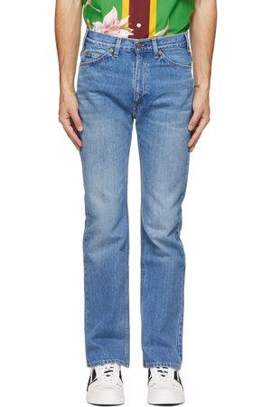 VALENTINO Blue Levi's Edition Denim 517 Jeans