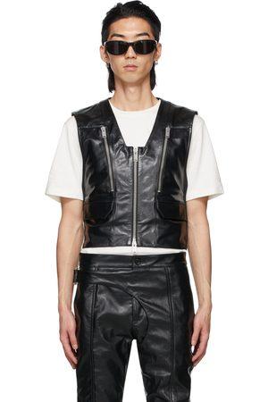 ADYAR SSENSE Exclusive Leather Hug Vest