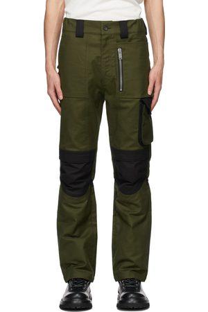 ADYAR SSENSE Exclusive Khaki & Black Utility Cargo Pants