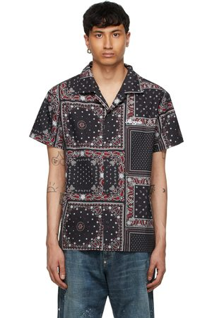 Rogic Black & Paisley Short Sleeve Shirt