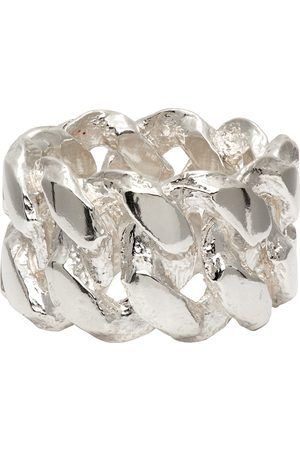 PEARLS BEFORE SWINE Silver XL Link Ring