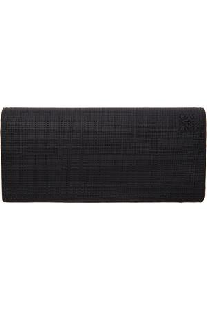 Loewe Black Long Horizontal Wallet