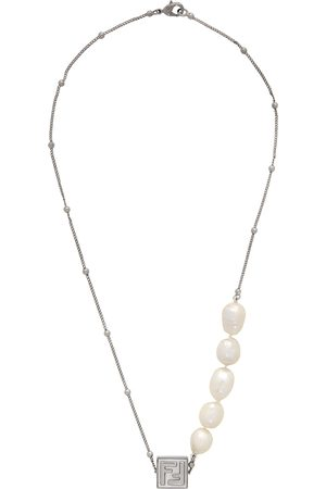 Fendi Silver 'Forever ' Necklace