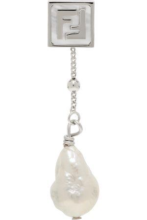 Fendi Silver 'Forever ' Single Earring