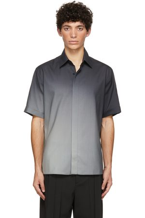 Fendi Black Gradient Spotlight Short Sleeve Shirt