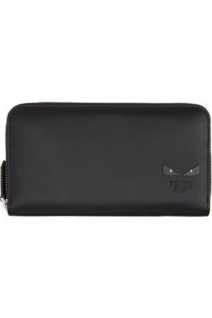 Fendi Black Bag Bugs Continental Wallet