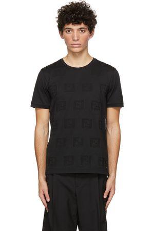 Fendi Black 'FF' T-Shirt