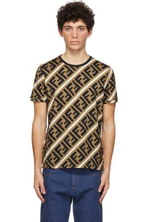 Fendi Brown 'Forever ' T-Shirt