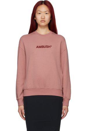 AMBUSH Pink Regular Fit Sweatshirt