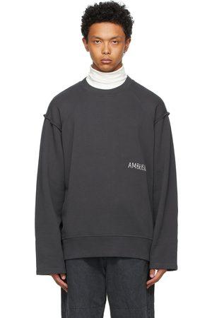 AMBUSH Grey Raw Edge Sweatshirt