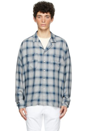 Rhude Grey & Check Camp Shirt