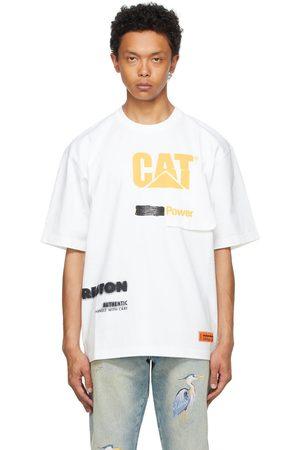 Heron Preston White Caterpillar Edition 'Power' T-Shirt
