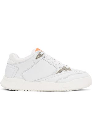 Heron Preston White Low Top Sneakers