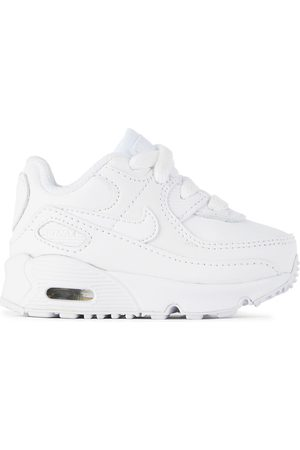 Nike Baby White Air Max 90 LTR Sneakers