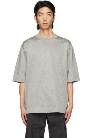 N. HOOLYWOOD Grey Half Sleeve T-Shirt
