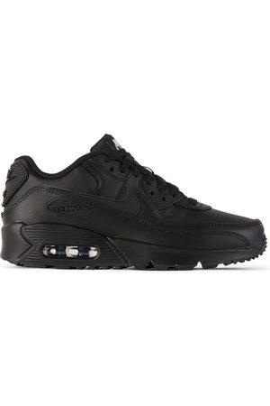 Nike Kids Black Air Max 90 LTR Sneakers